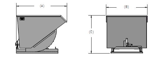Hopper Dimensions